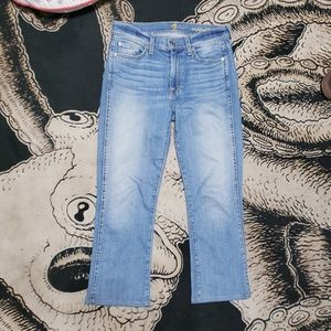 7 for all mankind cropped boot Jeans 27